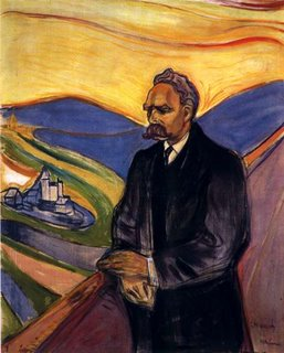 Nietzsche by Munch