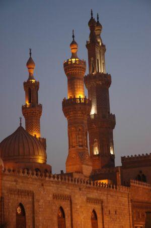 Al-Azhar-moskén i Kairo