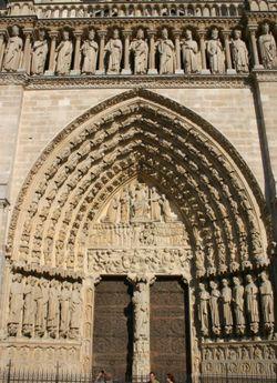 Notre-Dames västra centrumport