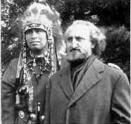 Frithjof Schuon with Indian Chief