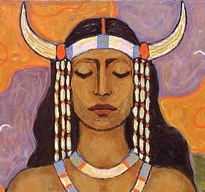 Frithjof Schuon - indiankvinna
