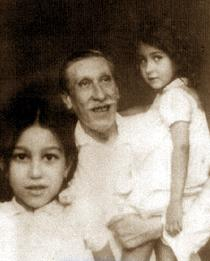 René Guénon med döttrar