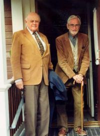 Tage Lindbom och Kurt Almqvist