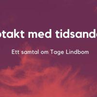 Renässans för Lindbom-utgivning